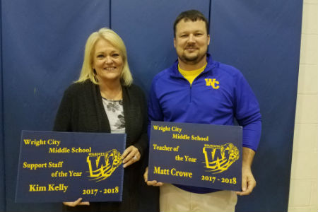 WCMS Staff of the Year