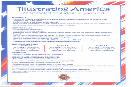Illustrating America Art Contest K-8