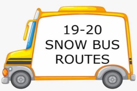 19-20 Snow Bus Routes